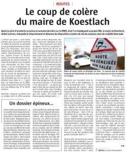 L'Alsace - Edition Altkirch - Page Sundgau 22/12/2016