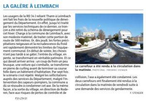 DNA - Edition Mulhouse/Thann (7.01.17) - La Galère à Leimbach #VH