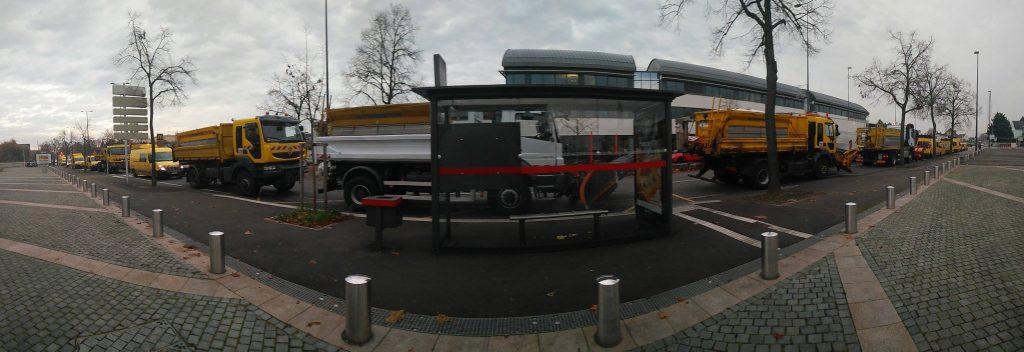 #Manifestation #Deneigement #HautRhin 23/11/16 #VH